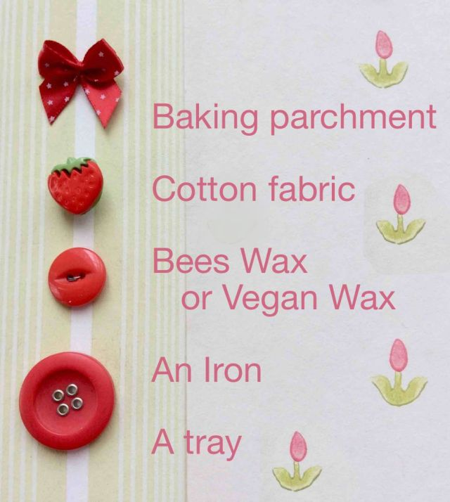 wax stips ingredients